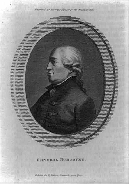 General Burgoyne / Pollard sc.