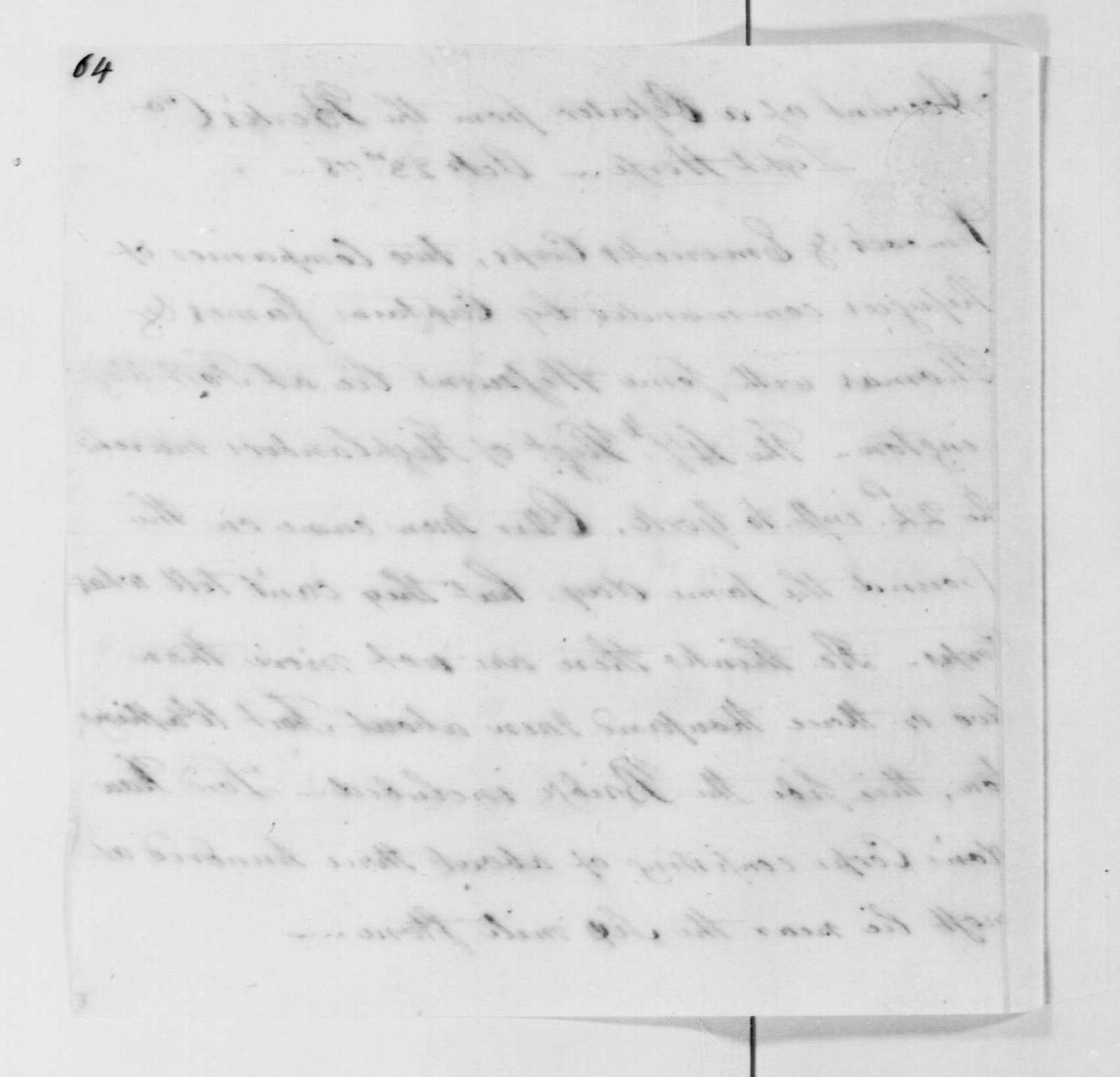 George Washington Papers, Series 4, General Correspondence: Charles Scott, October 23, 1778, Intelligence Report on British at Fort Washington