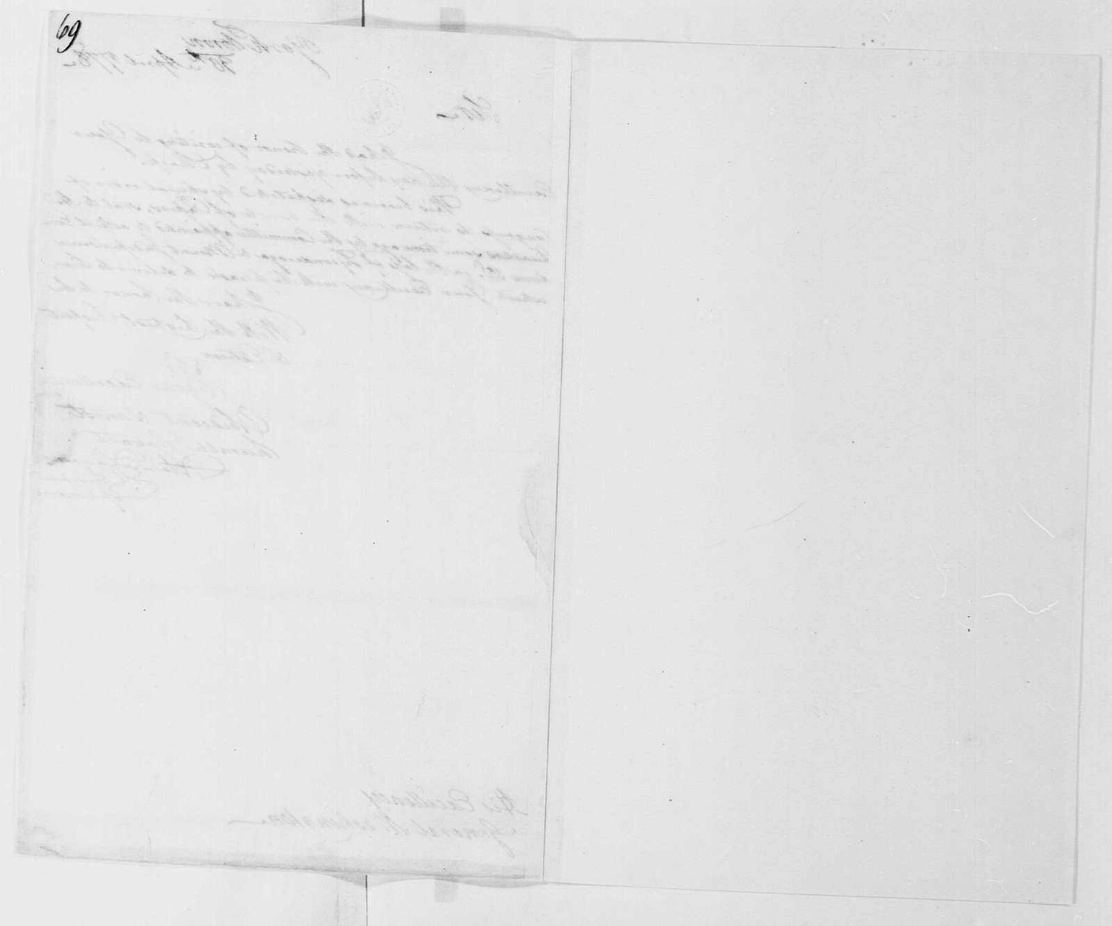 George Washington Papers, Series 4, General Correspondence: Continental Congress to George Washington, April 30, 1778