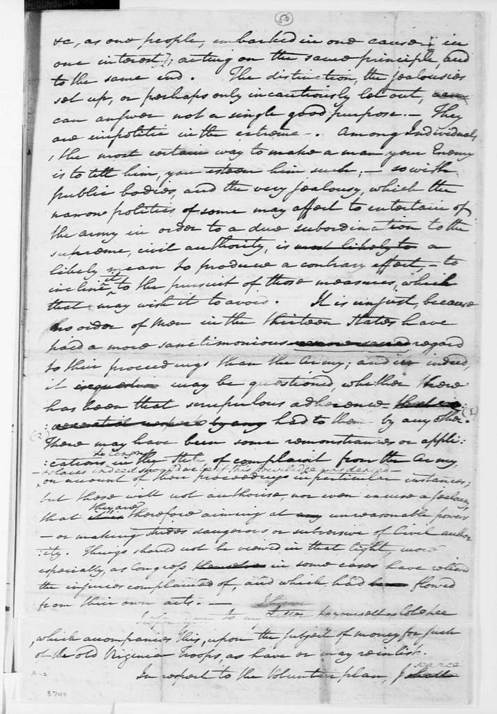 George Washington Papers, Series 4, General Correspondence: George Washington to John Banister, April 21, 1778