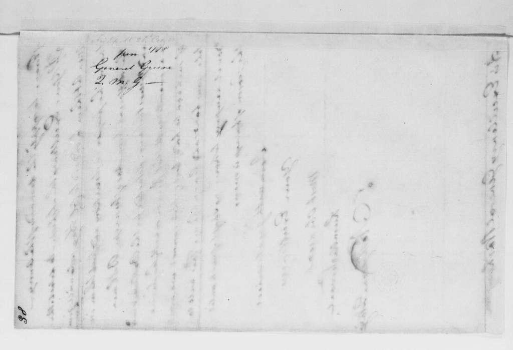 George Washington Papers, Series 4, General Correspondence: Nathanael Greene to George Washington, October 21, 1778