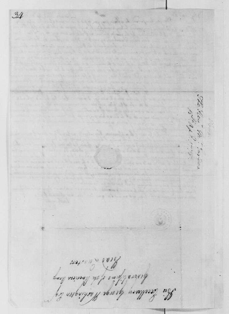 George Washington Papers, Series 4, General Correspondence: William Gordon to George Washington, April 15, 1778