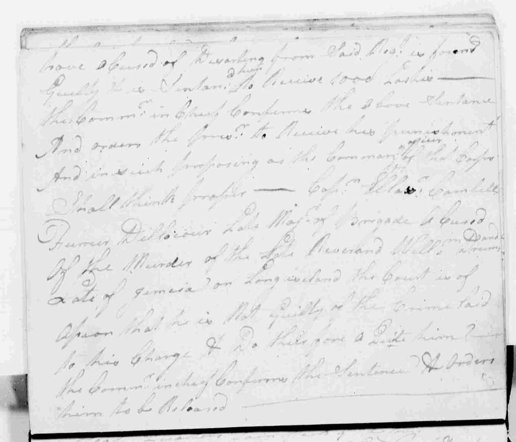 George Washington Papers, Series 6, Military Papers, 1755-1798, Subseries 6B, Captured British Orderly Books, 1777-1778: Captured British Army Orderly Book, August 4-October 13, 1778