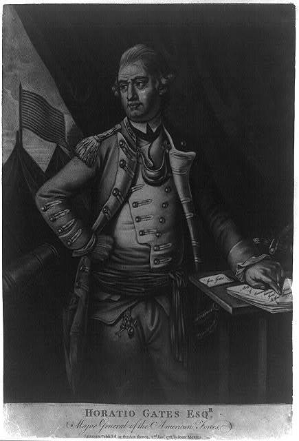 Horatio Gates Esqr., major general of the American forces