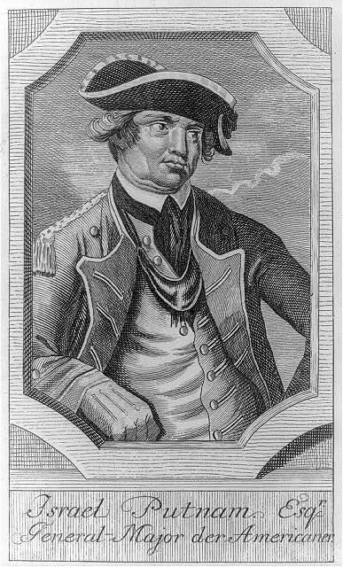 Israel Putnam, Esq'r. - general-major der Americaners