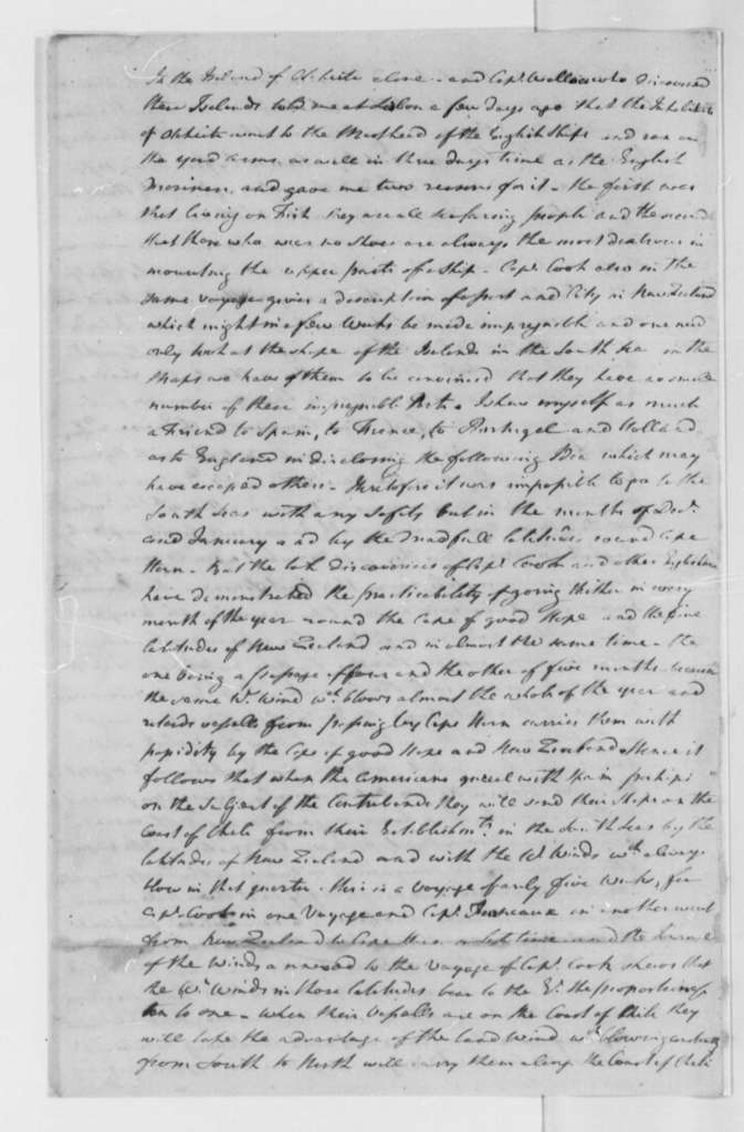 """Lord Rochford, 1778, Historical Anecdote on Project to """"Present the War"""""""