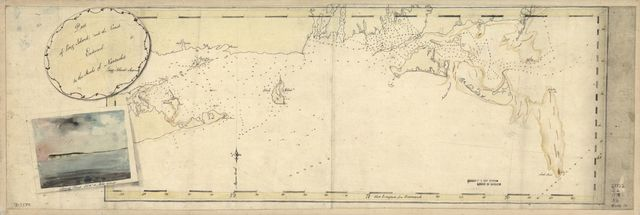 Part of Long Island; and the coast eastward to the shoals of Nantucket.
