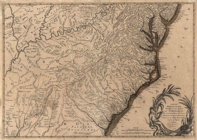 Partie méridionale des possessions angloise [sic] en Amérique : pour servir d'intelligence à la guerre présente entre les anglois et leurs colonies /
