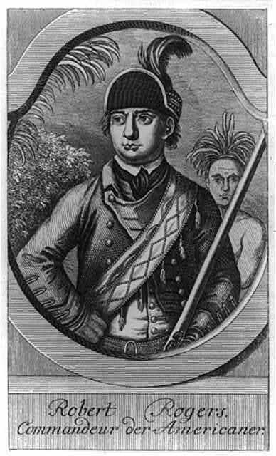 Robert Rogers - commandeur der Americaner