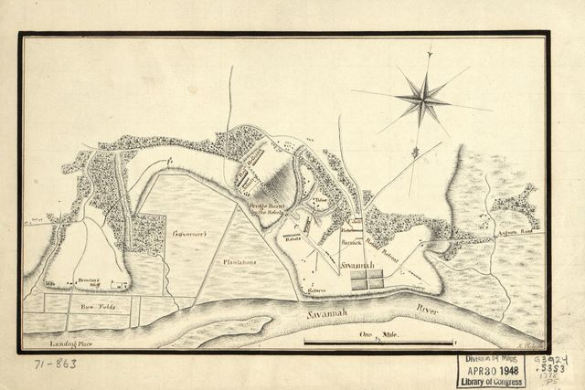 [Taking of Savannah in Dec. 1778]