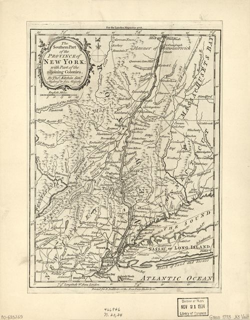 The southern part of the Province of New York : with part of the adjoining colonies /
