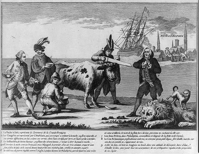 [Wegens de staat der Engelsche natie, in't jaar 1778]