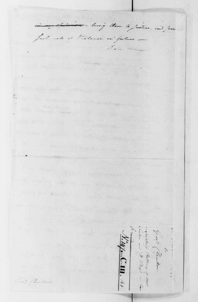 George Washington Papers, Series 4, General Correspondence: George Washington to George Clinton, November 3, 1779