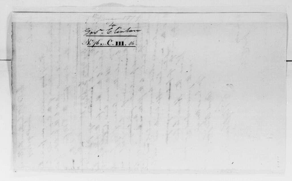 George Washington Papers, Series 4, General Correspondence: George Washington to George Clinton, June 9, 1779