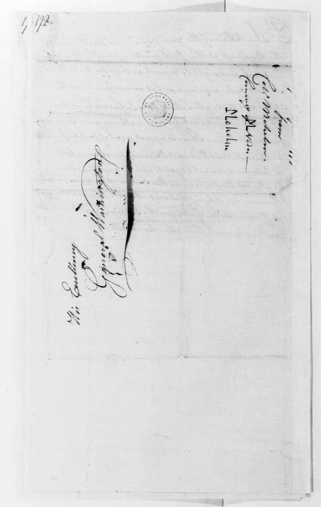 George Washington Papers, Series 4, General Correspondence: John Mehelm to George Washington, April 2, 1779