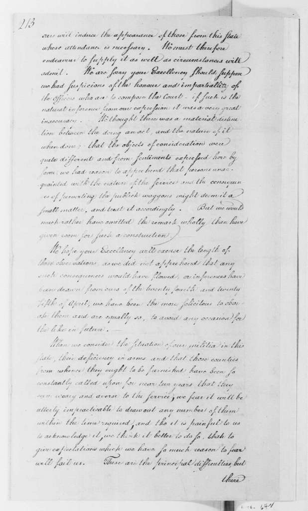 George Washington Papers, Series 4, General Correspondence: Joseph Reed to George Washington, May 8, 1779