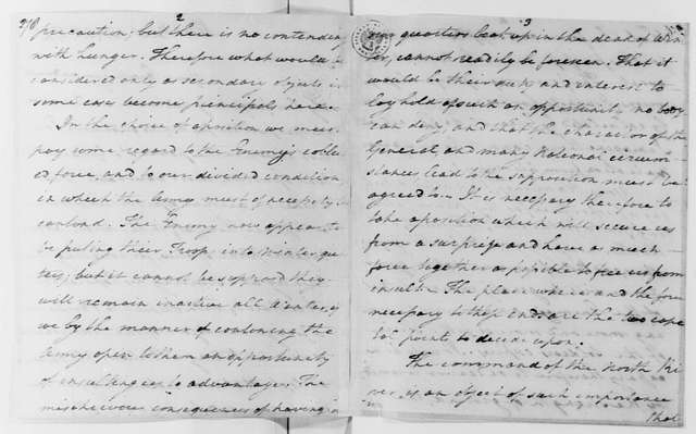 George Washington Papers, Series 4, General Correspondence: Nathanael Greene to George Washington, November 14, 1779