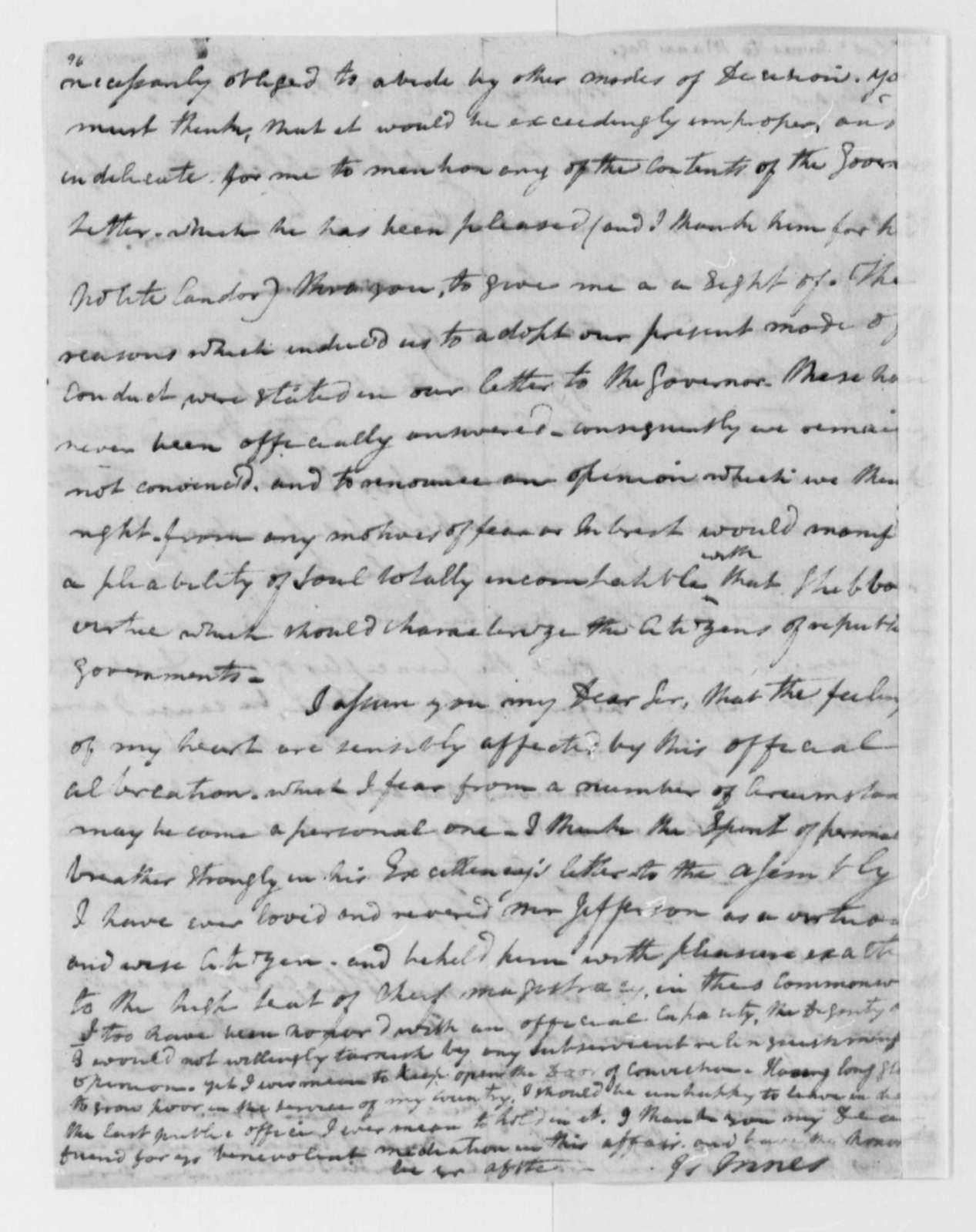 James Innes to Mann Page, October 27, 1779