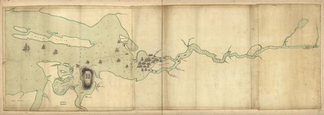 [Penobscot River and Bay, with the operations of the English fleet, under Sir George Collyer, against the division of Massachusetts troops acting against Fort Castine, August 1779; with full soundings up to the present site of Bangor.