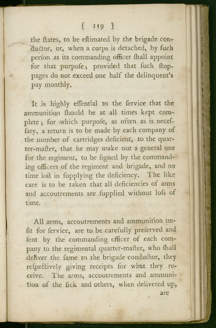 Regulations for the order and discipline of the troops of the United States. Part I.