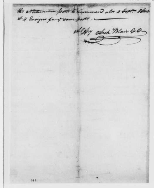 Thomas Jefferson, July 23, 1779, Virginia Assembly Act to Raise Two Battalions of Troops to Defend the Western Frontier