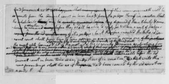 Virginia Committee on Laws, 1779, Bill on Continuing the Use of Writs