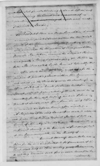 Virginia Committee on Laws, 1779, Land Office Bill