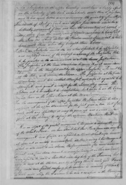 Virginia Committee on Laws, 1779, Notes on Warehouses