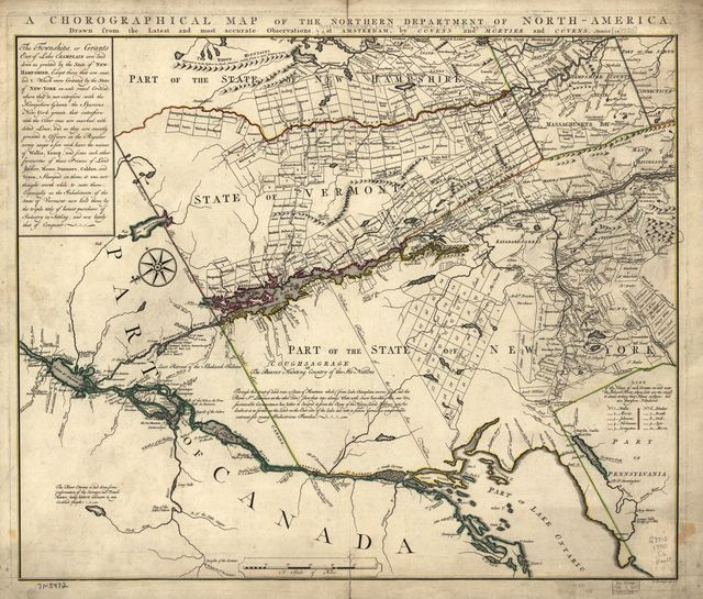A chorographical map of the Northern Department of North-America,