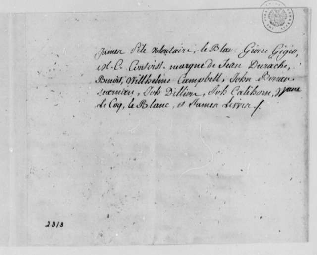 Avis Aux Volontaires, 1780, L'Indien (ship) and Claims Against South Carolina; in French