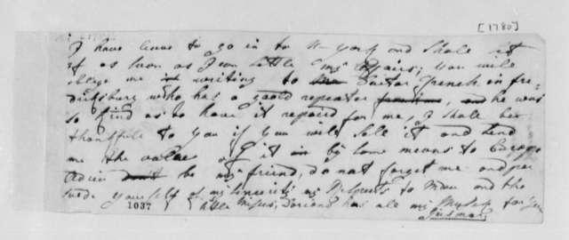 Baron de Geismar to Thomas Jefferson, 1780