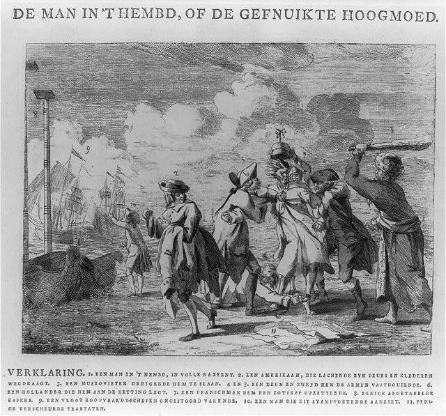 De man in't hembd, of de gefnuikte hoogmoed