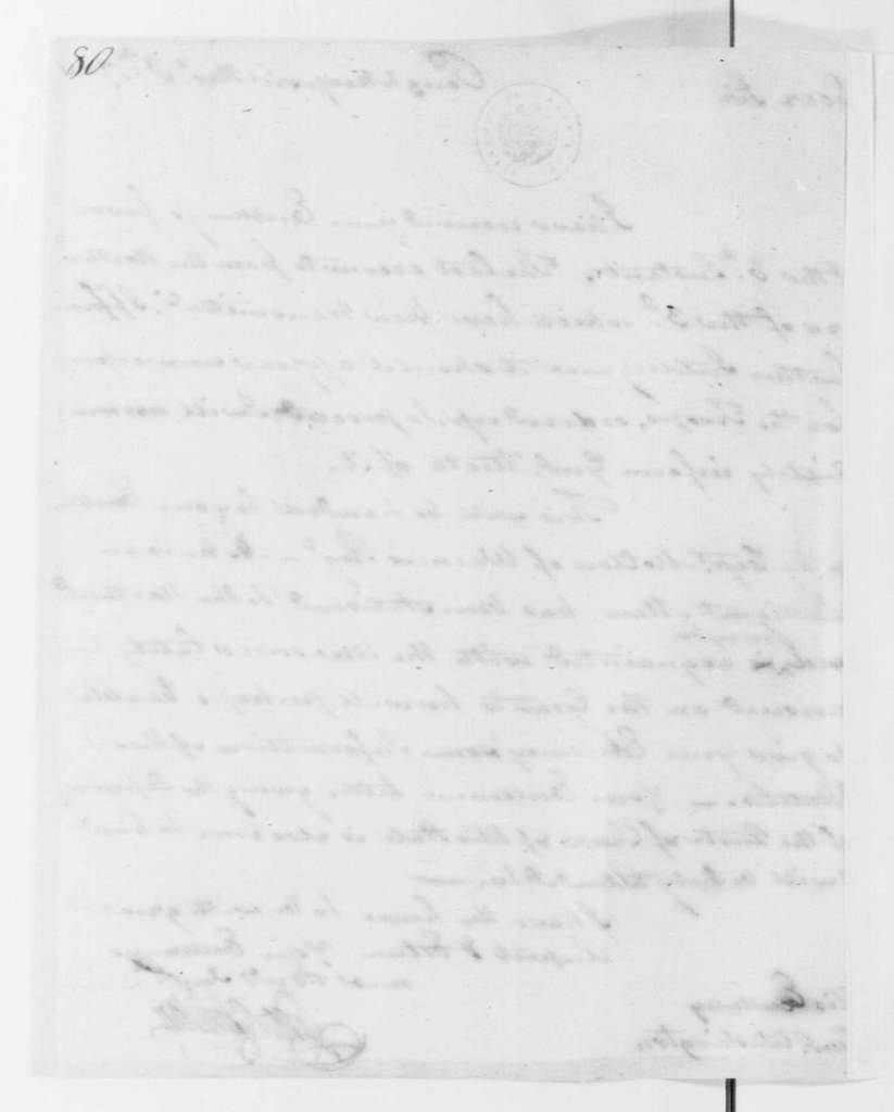 George Washington Papers, Series 4, General Correspondence: George Clinton to George Washington, November 8, 1780