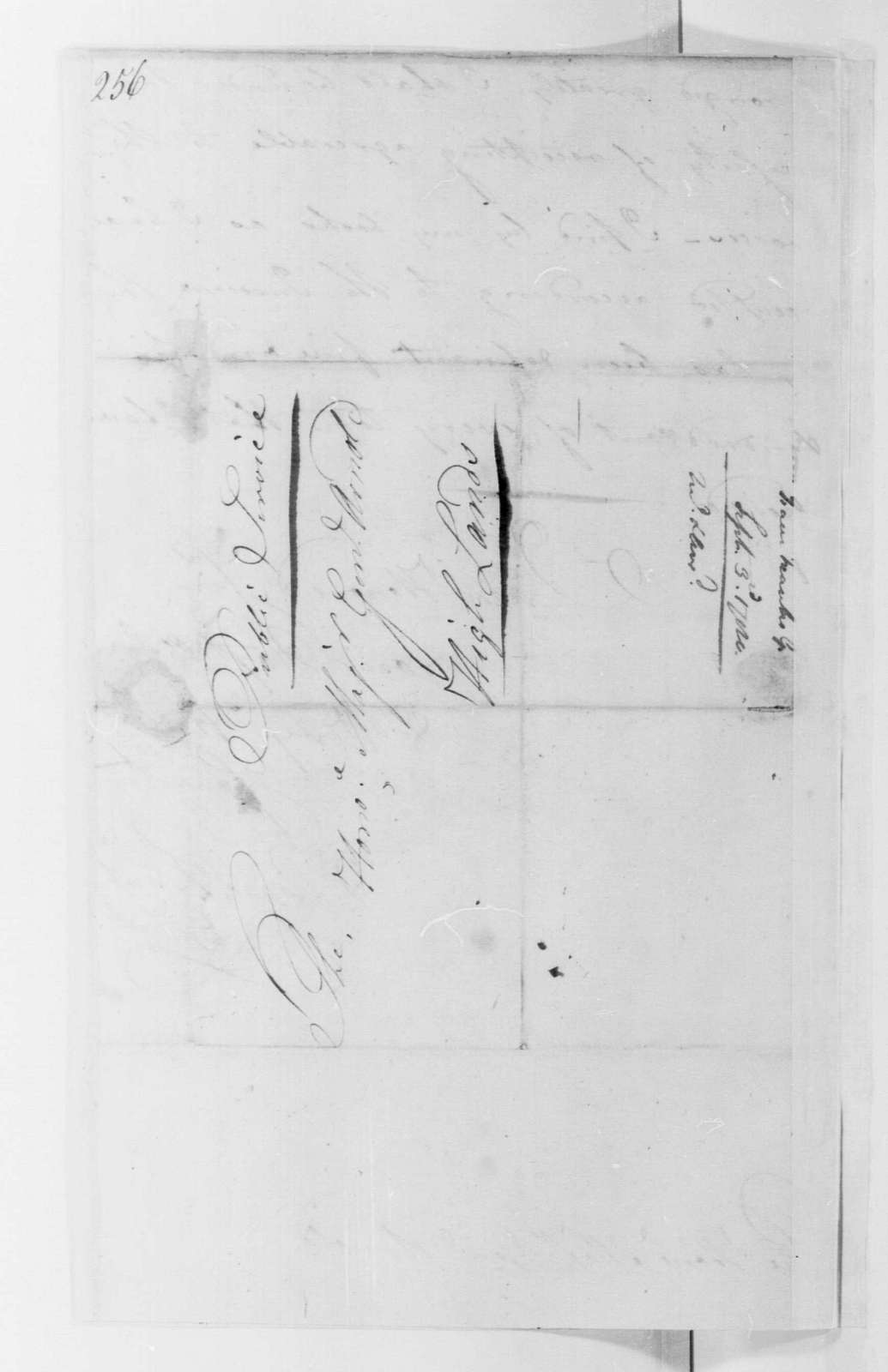 George Washington Papers, Series 4, General Correspondence: Isaac Franks to Benedict Arnold, September 3, 1780