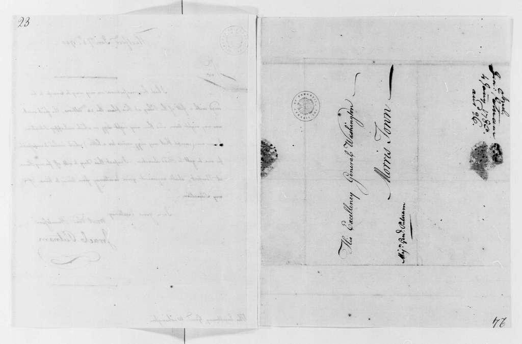 George Washington Papers, Series 4, General Correspondence: Israel Putnam to George Washington, January 4, 1780