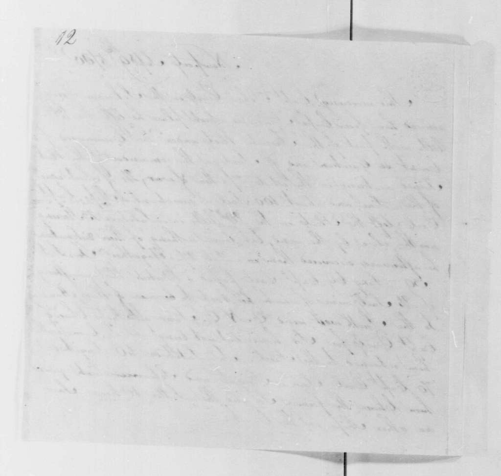 George Washington Papers, Series 4, General Correspondence: John Earle, September 9, 1780, Naval Intelligence