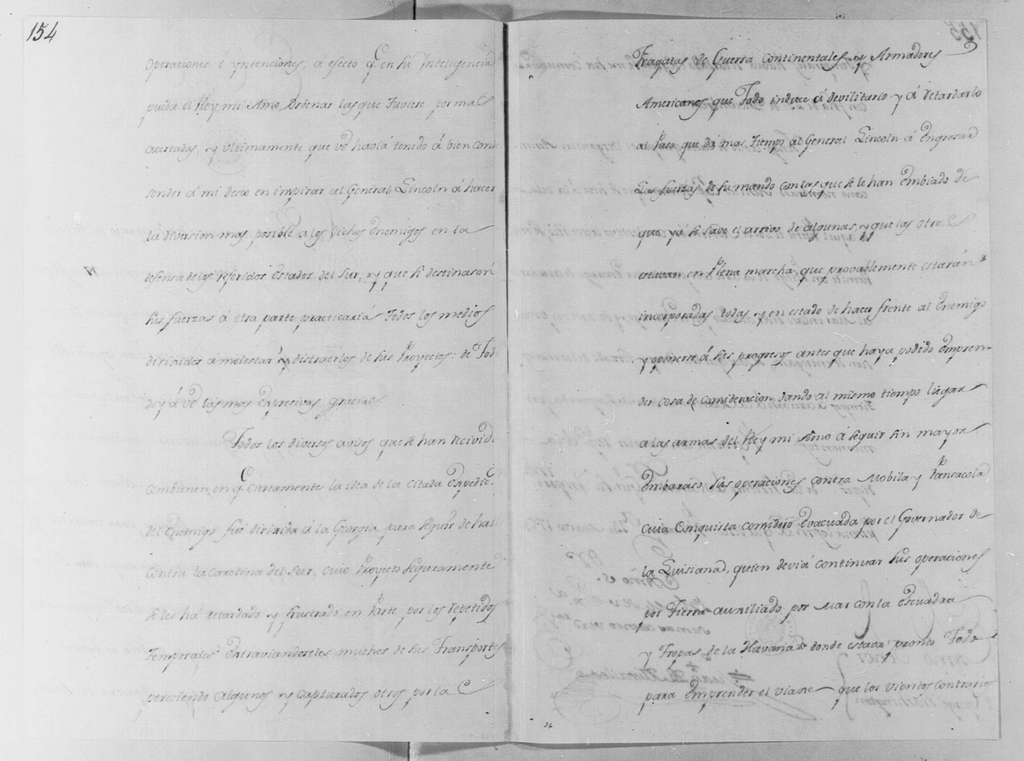 George Washington Papers, Series 4, General Correspondence: Juan de Miralles to George Washington, March 14, 1780, in Spanish, with Translation