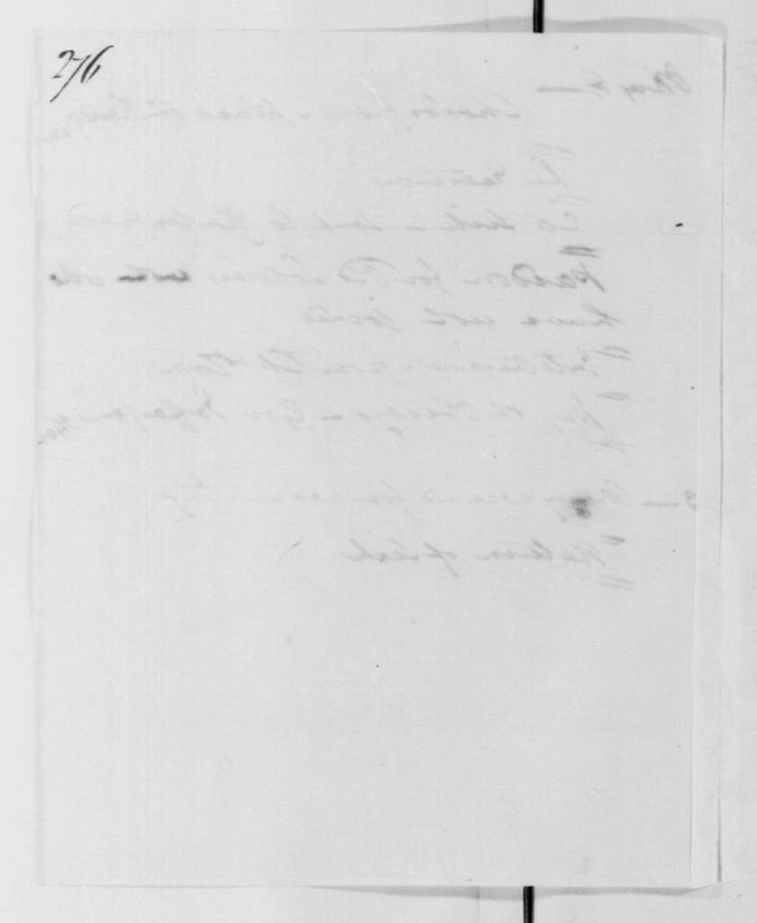 George Washington Papers, Series 4, General Correspondence: Robert H. Harrison, May 8, 1780, Summary of Muhlenberg's Letters