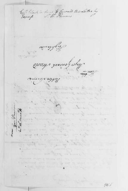 George Washington Papers, Series 4, General Correspondence: Samuel H. Parsons to Benedict Arnold, August 15, 1780