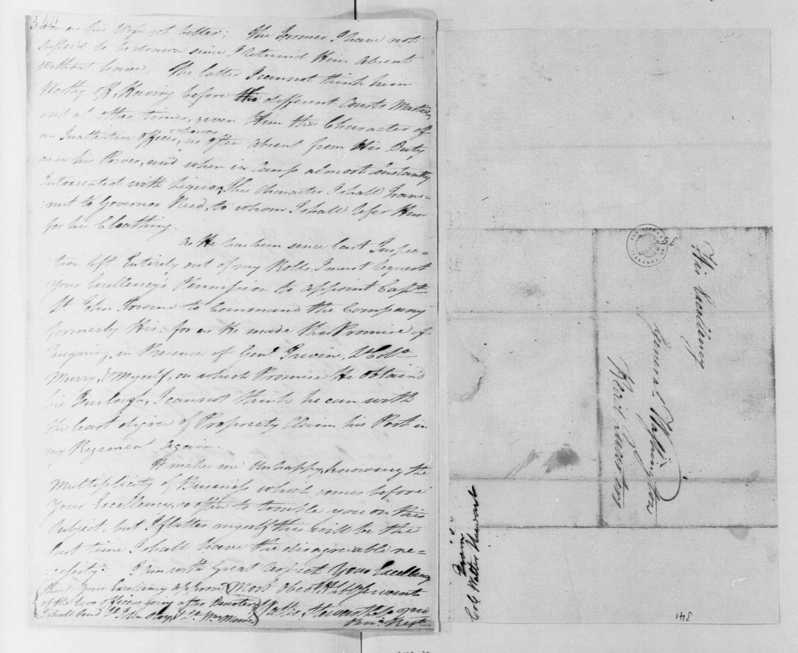 George Washington Papers, Series 4, General Correspondence: Walter Stewart to George Washington, February 16, 1780