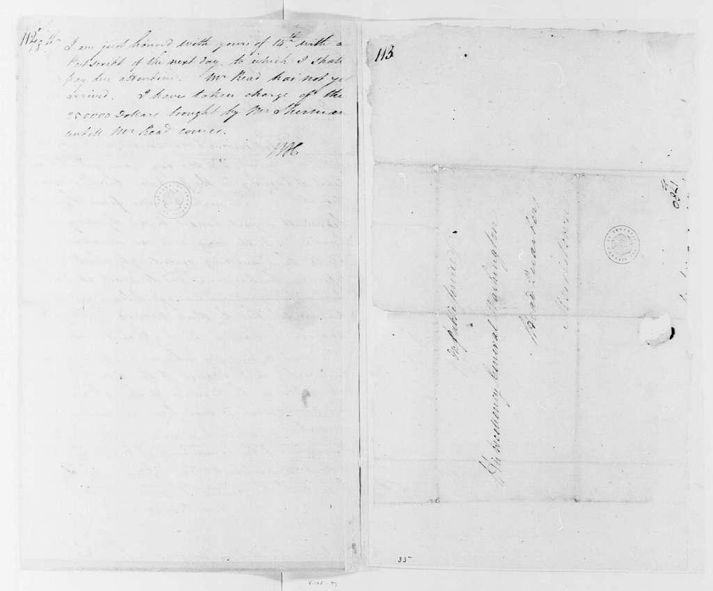George Washington Papers, Series 4, General Correspondence: William Heath to George Washington, January 17, 1780
