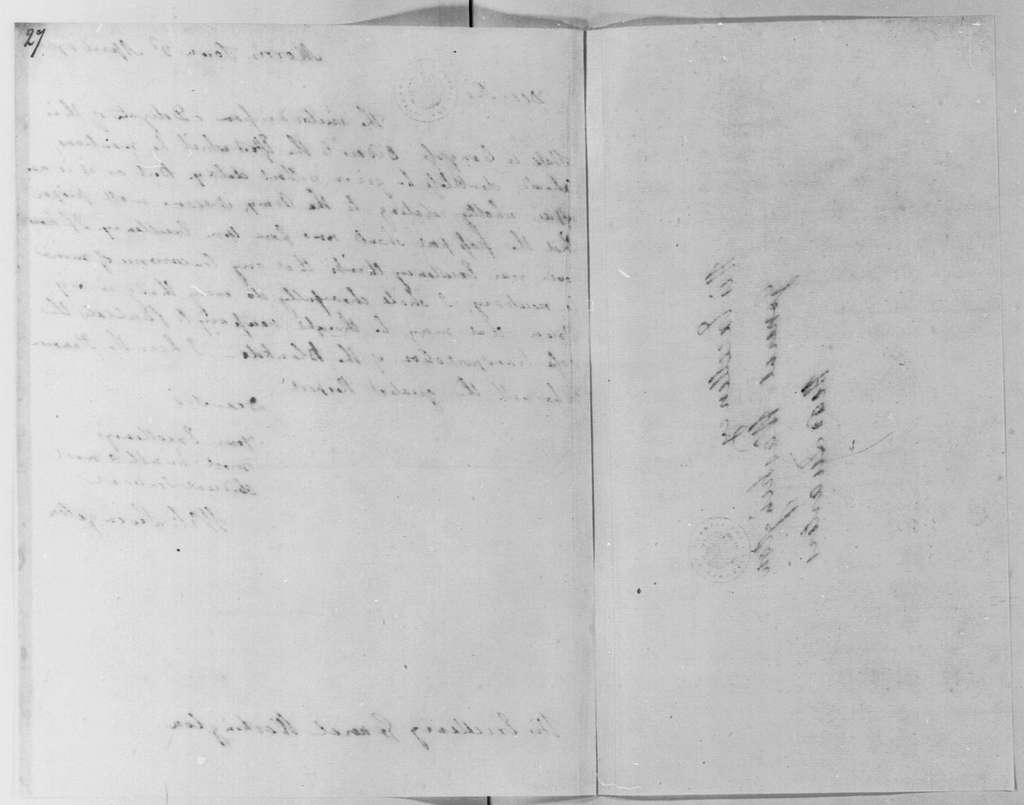 George Washington Papers, Series 4, General Correspondence: William Livingston to George Washington, April 3, 1780