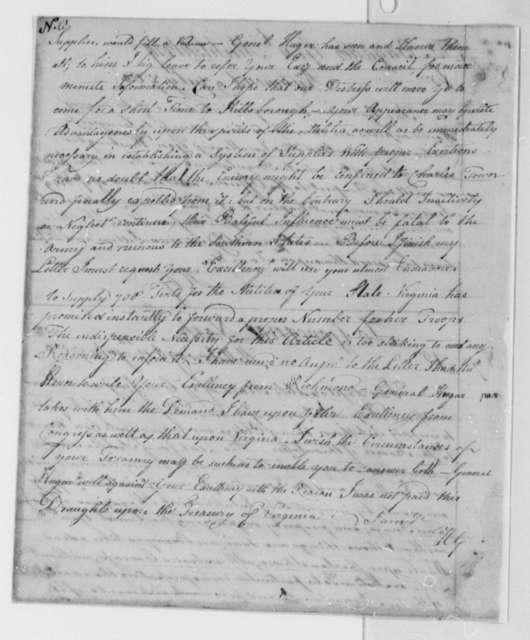 Horatio Gates to Abner Nash, July 19, 1780