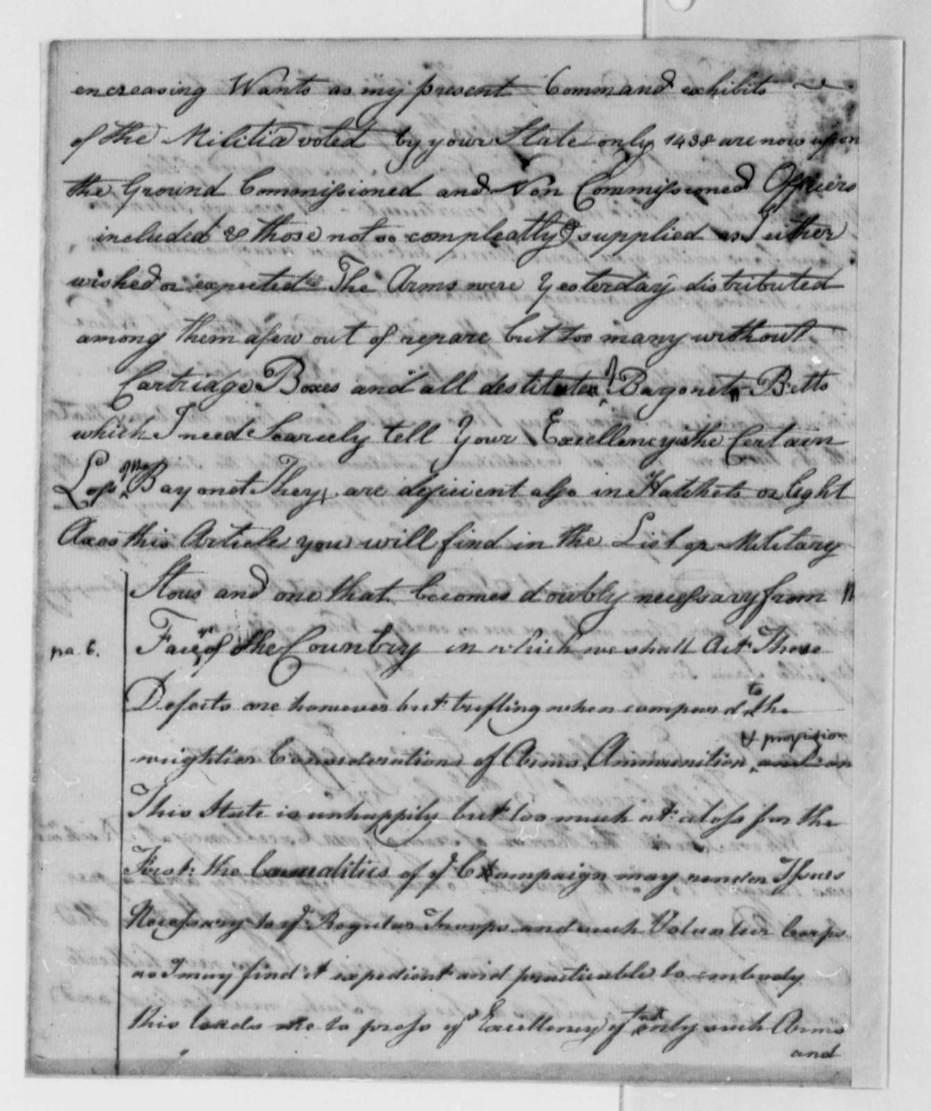 Horatio Gates to Thomas Jefferson, July 19, 1780
