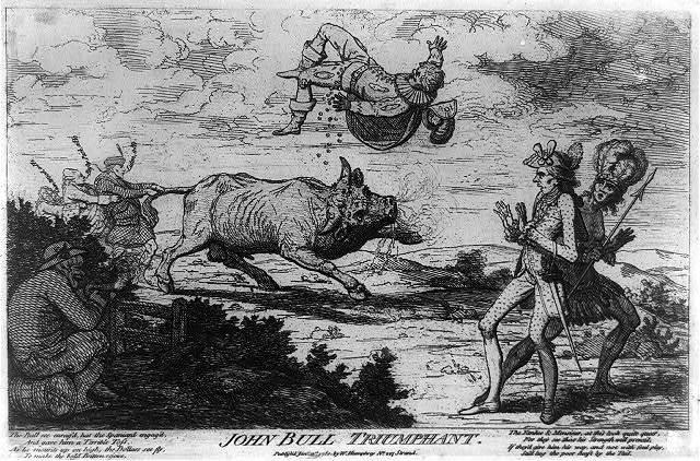 John Bull triumphant