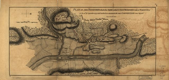 [Maps of the expedition from Canada of Gen. Burgoyne]