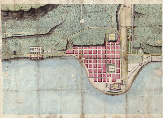 Plan du Môle St. Nicolas.