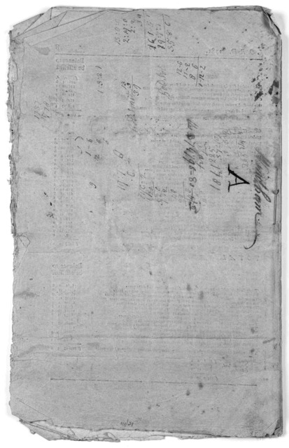 Commonwealth of Massachusetts. In the year of our Lord, one thousand seven hundred and eighty-one. An act, for apportioning and assessing a tax ...[Boston: Printed by Benjamin Edes and Sons, 1781].