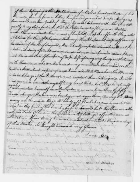 Edward Stevens to Thomas Jefferson, January 24, 1781