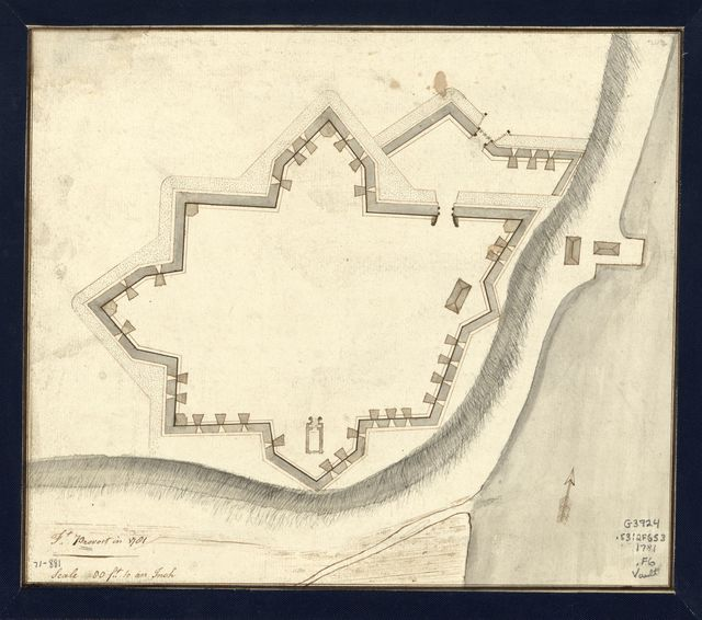 Ft. Provost in 1781.